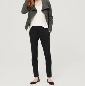 {10} NWT LOFT Marissa Skinny Ankle Black Pant